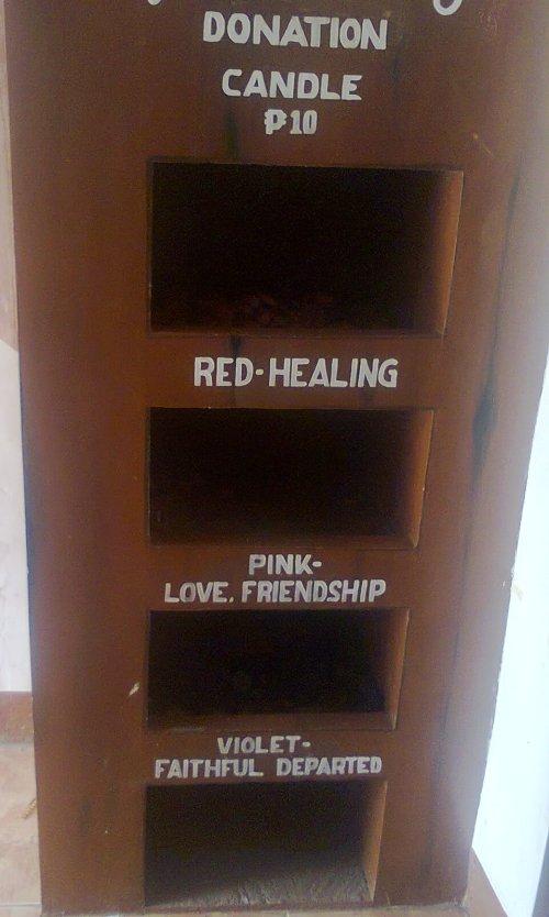 Wala nang kandila para sa pag-ibig..red (love/friendship)